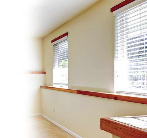 Blinds instead of Curtains